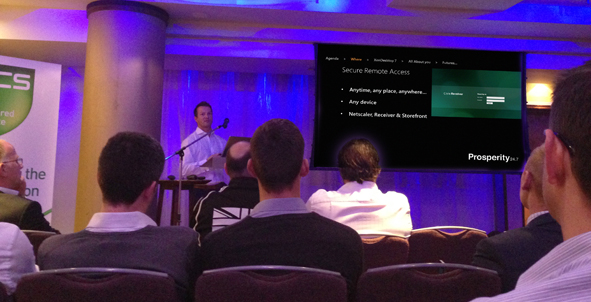 BCS Jersey, Jonathan Storey, Technical Expert, Citrix, Prosperity 24.7