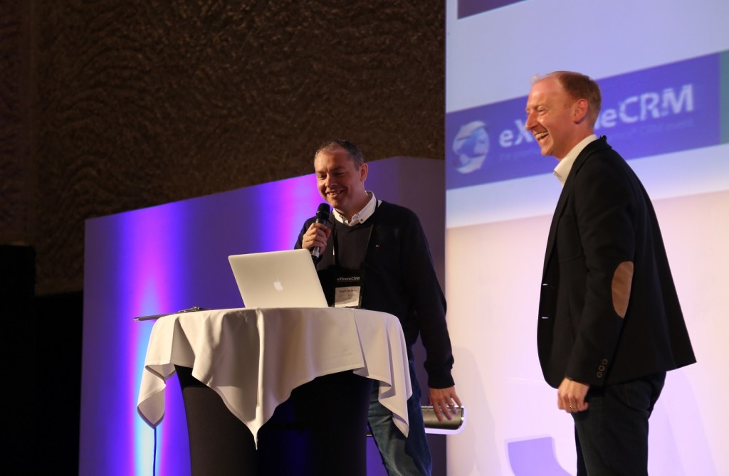 eXtremeCRM2015, Madrid, winning presentation, Dynamics CRM 2015, Mobile Integration, Chris Clark, Simon Jackson