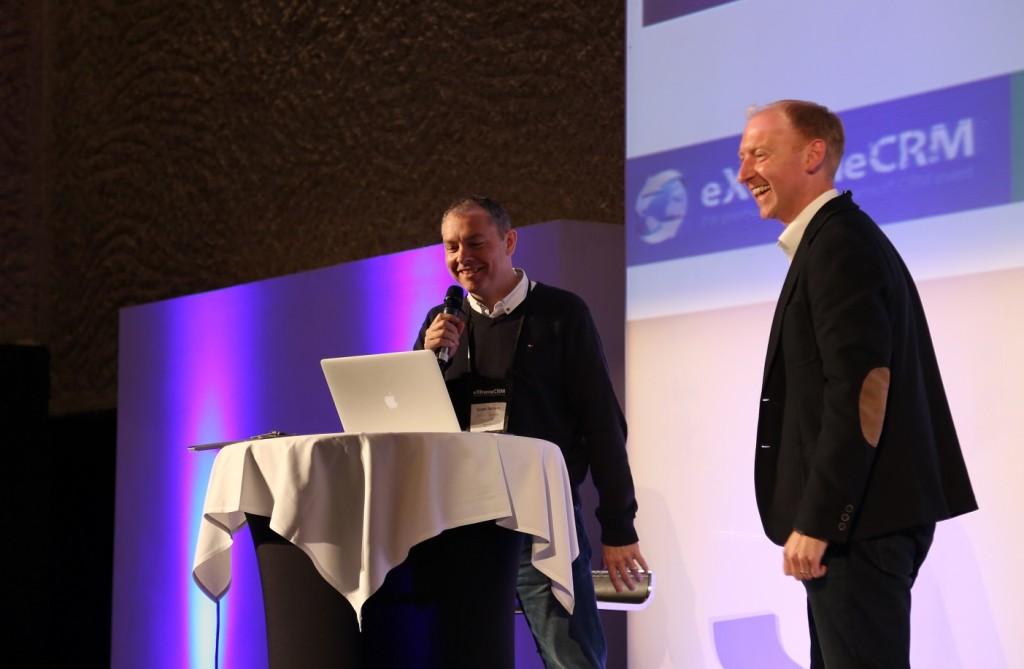 eXtremeCRM2015, Madrid, winning presentation, Dynamics CRM 2015, Mobile Integration, Chris Clark, Simon Jackson