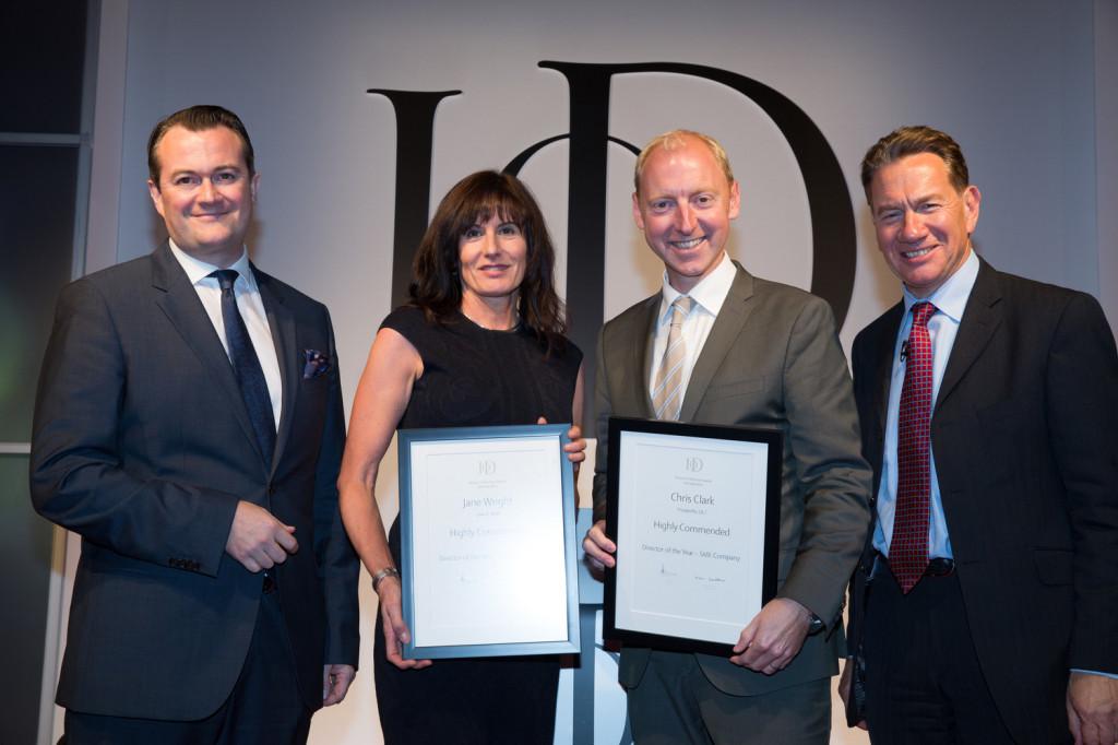 Institute of Directors, Director of the Year Awards, Chris Clark, Peosperity 24.7