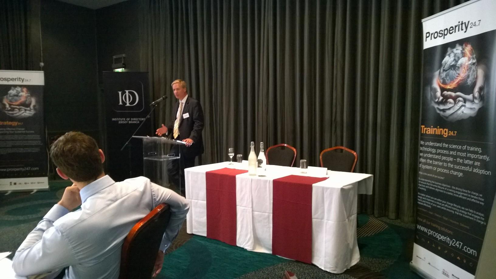 IoD Jersey Prosperity 247 Doug Bannister