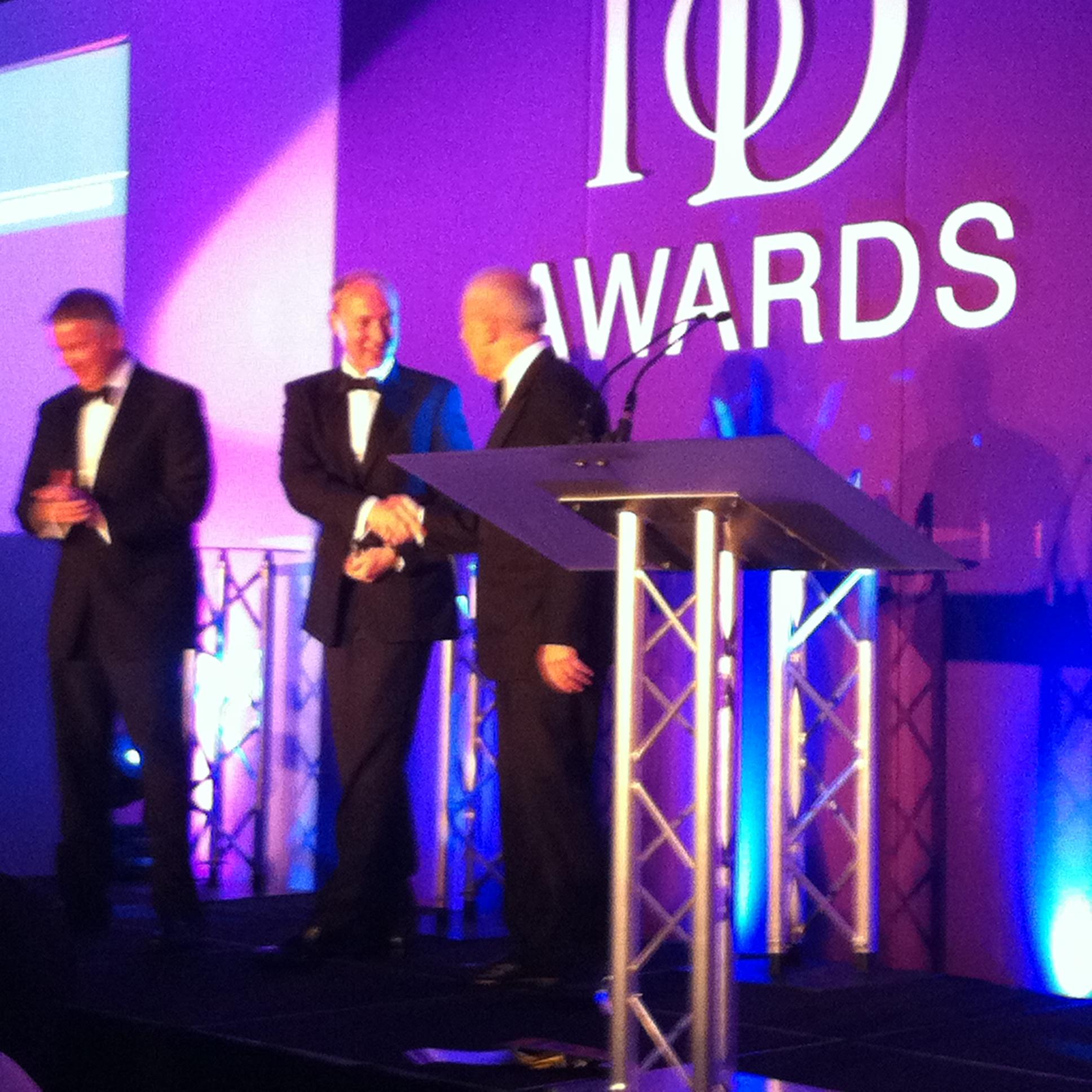 IoD Director of the Year; Prosperity 24.7; Chris Clark